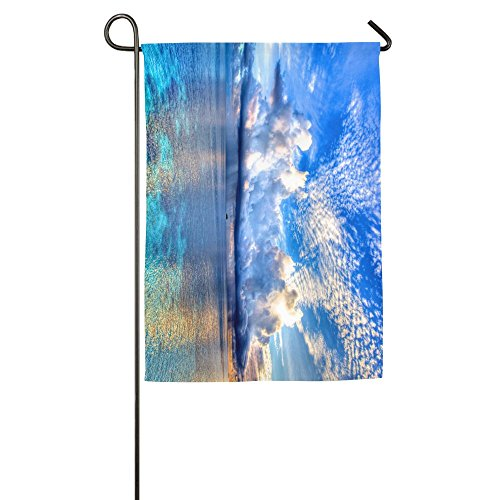 Beach Sea Clouds Sky Ocean Vertical House Flag,garden Flag,home Flag,indoor Flag Yard Indoor & Outdoor Decoration 1218inch & 1827inch -