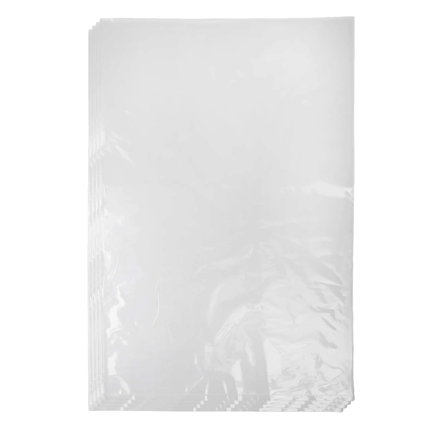 Nextphase Packaging Clear 1 Mil Food Safe Plastic Flat Open Ended Poly Bags for Storage, Packaging, and More - 9 x 12 Inch 100 Pack