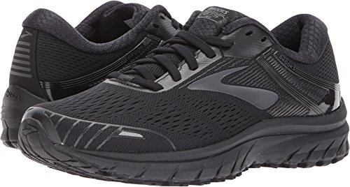 Brooks Women's Adrenaline GTS 18 Black/Black 10.5 B US