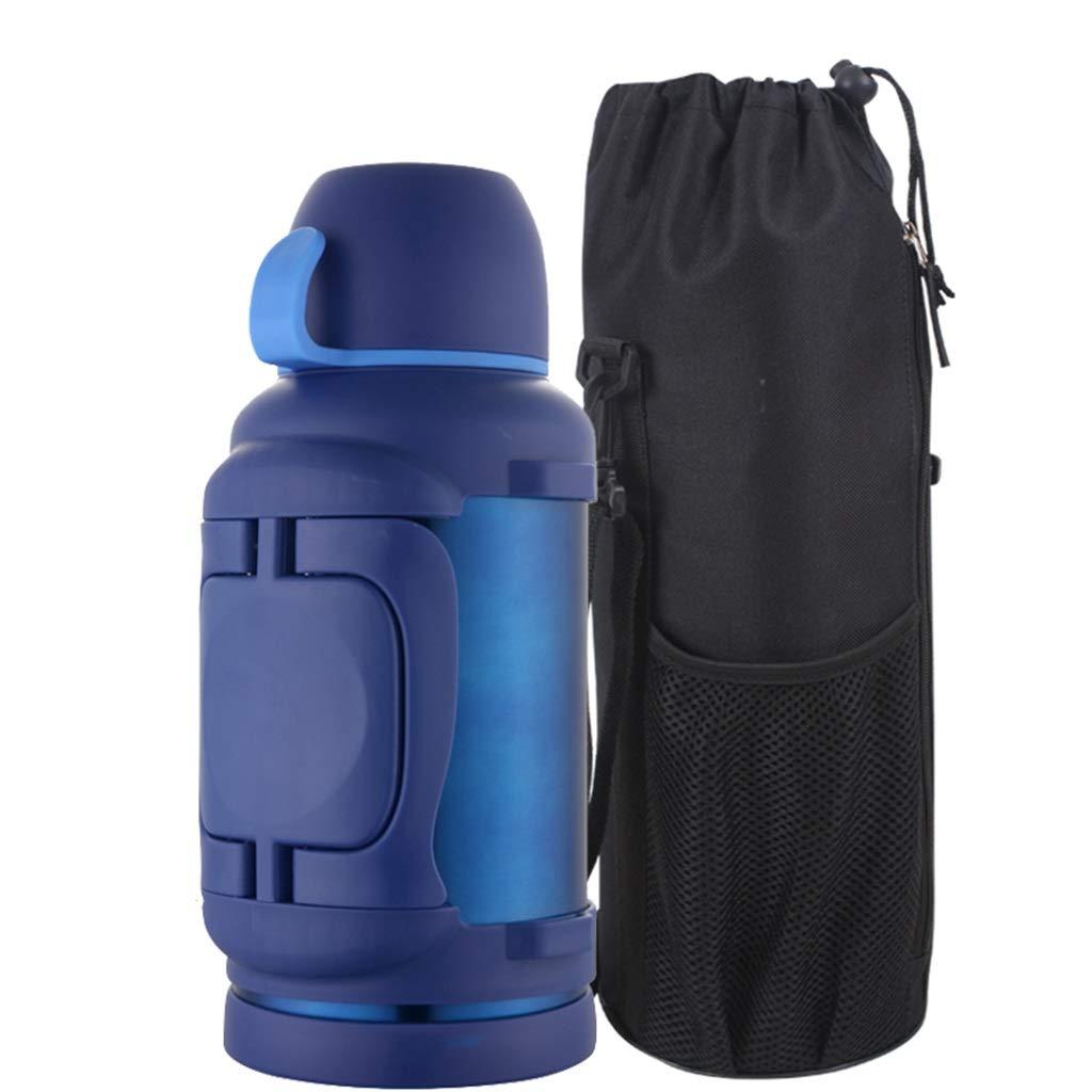 WLHW Trinkflaschen Thermoskannen, 304 Edelstahl Outdoor Große Kapazität Wasserflasche Reise Outdoor Wärmflasche Auto 3L Der Männer