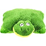 Pillow Pets Pee Wees Friendly Frog 11 Comfy Cozy Chenille Smile (Green) - As Seen ON TV by Pillow Pets