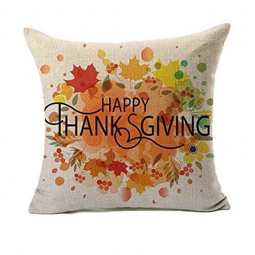 4TH Emotion Happy Thanksgiving Autumn Leaves Home Decor Desi