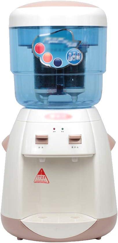タップ付きウォーターディスペンサー、デスクトップ家庭用小型ミニ浄水フィルターデスクトップウォーターマシン、テーブルトップホームスモールオフィス用、フィルターエレメント付き