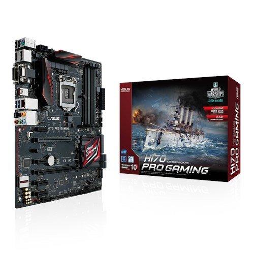 56 opinioni per Asus H170 Pro Gaming Intel Scheda Madre 1151, DDR4, Nero