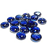 CYS EXCEL GGM001B-5BCYS Vase Filler Gem Glass Confetti, Table Scatters, Cobalt Blue, 5 lbs, Approximately 500 pcs (GGM001B-5B)