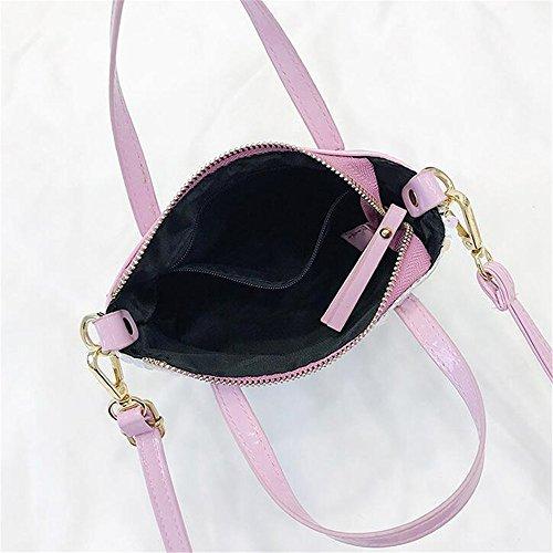 Bolso De Taleguilla La La Bolso Negro Pink GWQGZ Las De Tendencia Moda De De Bolso Señoras RYOxvPa