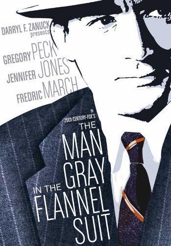 El hombre de traje gris de franela Póster de película B 11 x ...