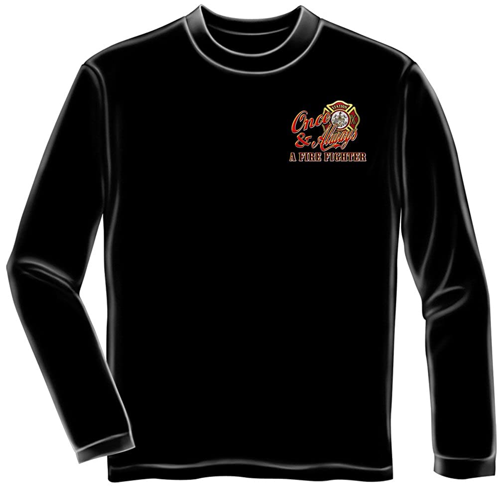 Erazor Bits Firefighter Long Sleeves Once A Firefighter FF2057LS