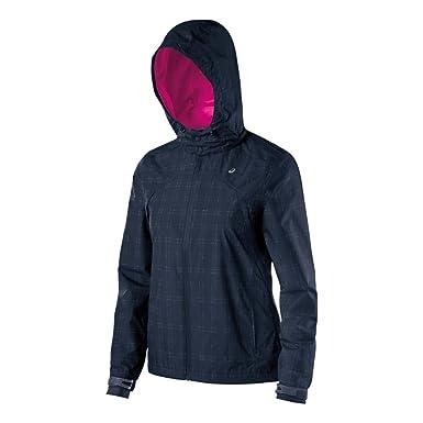 ASICS Chaqueta de abrigo de tormenta de rendimiento de funcionamiento de las mujeres Abrigos de cobalto