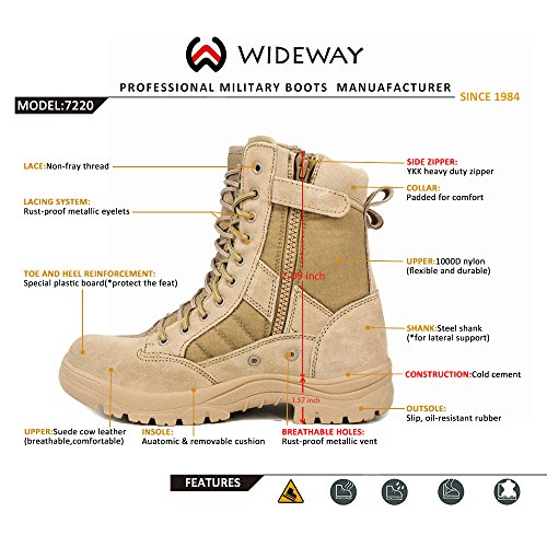 Buy mens military boots