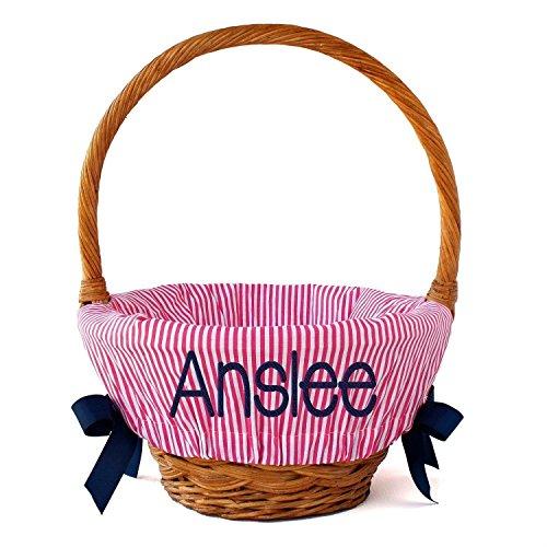 Easter Basket Liner, 4 pattern options, 2 sizes (Basket Liner Patterns)