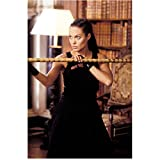 #4: Lara Croft Tomb Raider: The Cradle of Life 8x10 Photo Angelina Jolie Ready to Fight w/Long Bamboo Stick kn