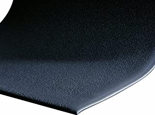 """M+A Matting 910 Charcoal PVC Foam Sure Cushion Texture Anti-Fatigue Mat, 3' Length x 2' Width x 3/8"""" Thick, for Dry Area (B008BW4276) 