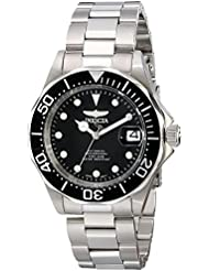 Invicta Mens 17039 Pro Diver Stainless Steel Watch with Link Bracelet