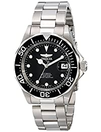Invicta Men's 17039 Pro Diver Analog Display Japanese Automatic Silver Watch