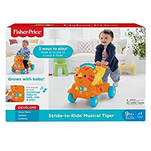 Fisher Price Stride-to-Ride Musical Tiger