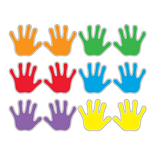 Trend Enterprises Handprints Classic Accents Variety Pack, Pack of 36 (T-10930)