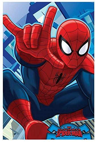 Marvel Spiderman Kids Super Soft Fleece Blankets 93 x 140 cm
