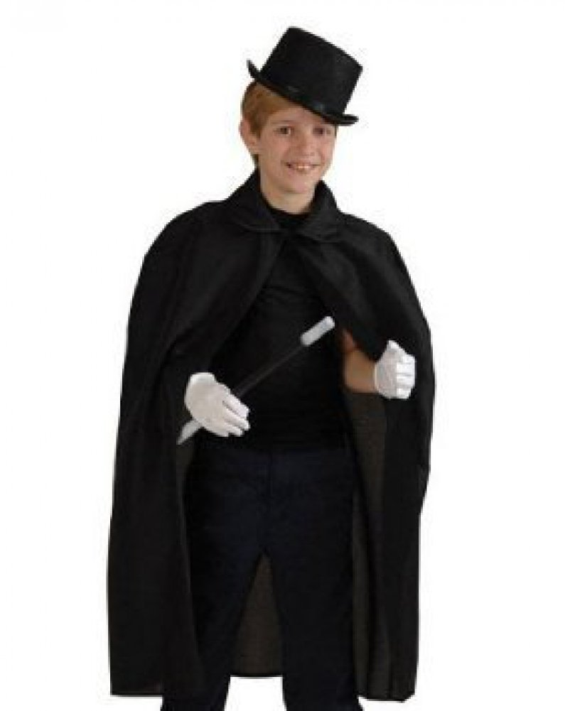 Amazon.com: Child's Halloween Magician Role Play Dress up Costume ...