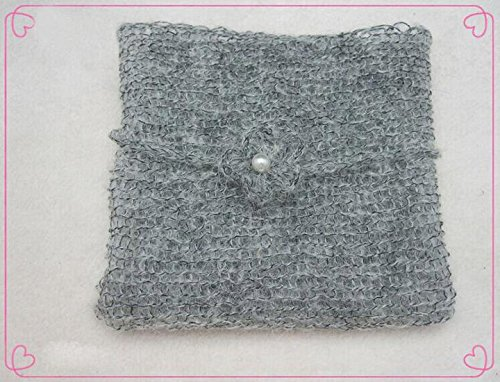 1PC Creative Newborn Baby Photography Prop Mohair Crochet Knit Wrap Cloth BG07