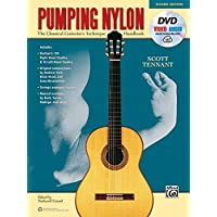 Pumping Nylon: The Classical Guitarist's Technique Handbook, Book, DVD & Online Audio