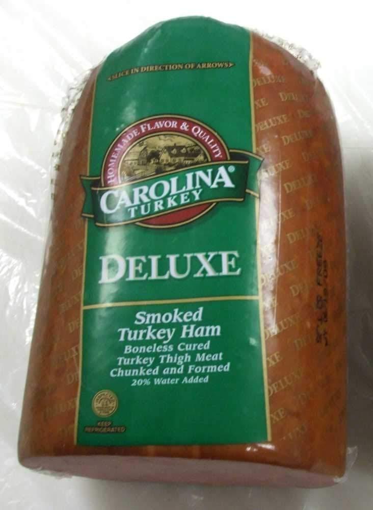 Carolina 20 Percent Deli Turkey Ham, 8 Pound -- 2 per case.