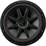 Kicker 12' 800 Watt CompVR 4 Ohm DVC Sub Woofer Car Power Subwoofer | 43CVR124