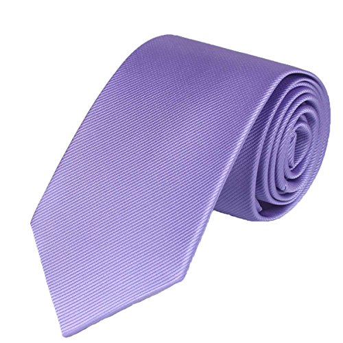 """100% Silk Solid Skinny Tie Necktie for men Handmade Solid Mens Skinny Neck Tie with Gift Box by WITZROYS ,2 3/4""""(7CM) from WITZROYS"""