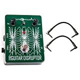 Electro-Faustus Guitar Disruptor Pedal w/ 2 Patch Cables