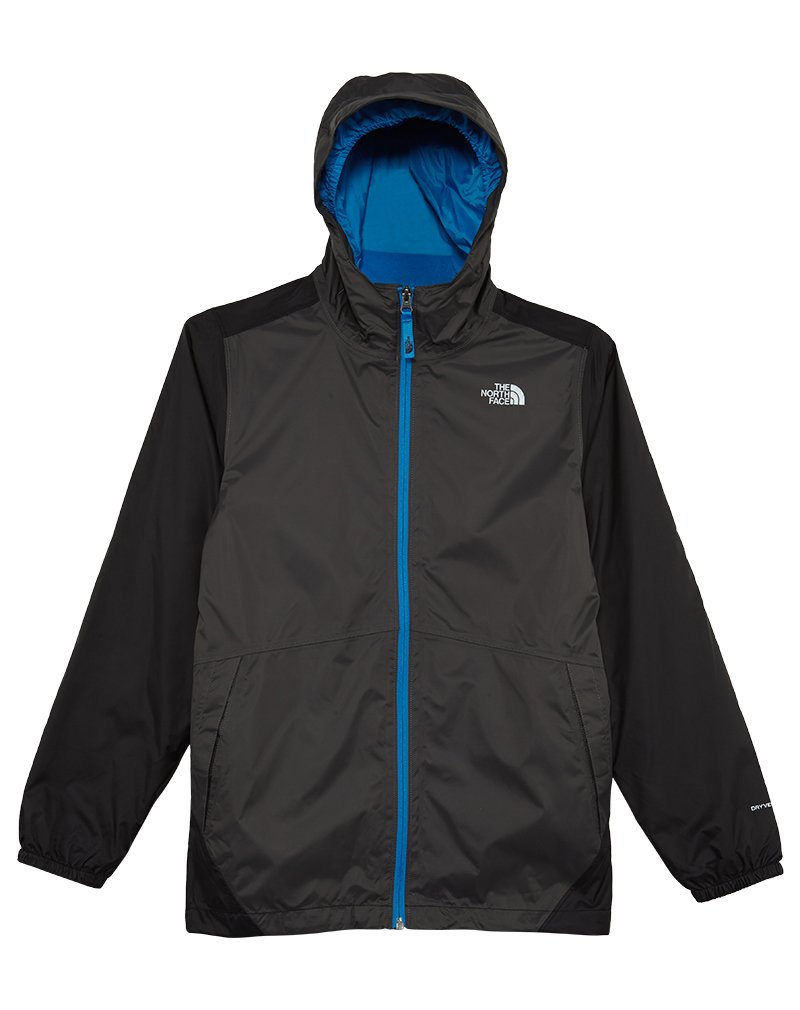 The North Face Boys' Stormy Rain Triclimate Jacket Graphite Grey L by The North Face