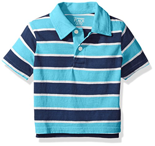 The Children's Place Baby-Boys' Li'l Guy's Short Sleeve Striped Top