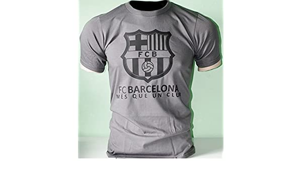 Amazon.com : FC Barcelona España Spain Soccer Futbol T Shirt Camiseta - Mes que un club : Sports & Outdoors