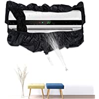 Air Conditioner Cleaning Waterproof Cover Black Household Clean Protector Tools with Water Pipe for 3P
