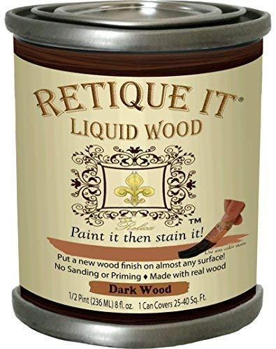 Retique It Liquid Wood, 8oz, 2. Dark