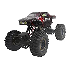 Redcat Racing Everest-16 Electric Rock Crawler with 2.4Ghz Radio Control (1/16 Scale), Red
