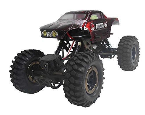 (Redcat Racing Everest-16 Electric Rock Crawler with 2.4Ghz Radio Control (1/16 Scale), Red )