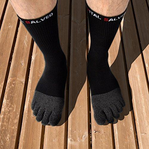 26c654a140 Vital Salveo- Toes Athletic Crew Socks [5WarK0301787] - $31.99
