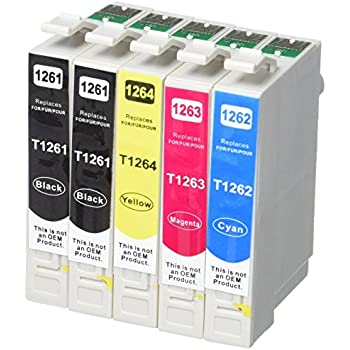 Inktoneram Remanufactured Ink Cartridges High Capacity Replacement for 126 (4x Black, 2x Cyan, 2x Magenta, 2x Yellow, 10-Pack)