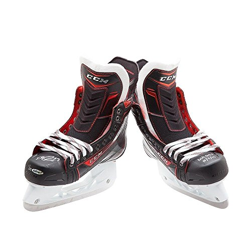 Connor McDavid Autograph CCM Jetspeed Skates Oilers NHL Debut 10/9/15 12/25 UDA