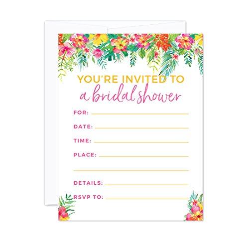 Garden Bridal Shower Invitations - 2