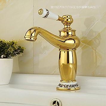 Furesnts moderne Home Küche und Bad Armatur goldene Wasserhähne ...