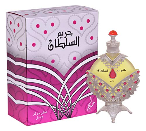 (Khadlaj Hareem Al Sultan Silver for Women CPO - Concentrated Perfume Oil (Attar) 35 ML (1.18 oz))
