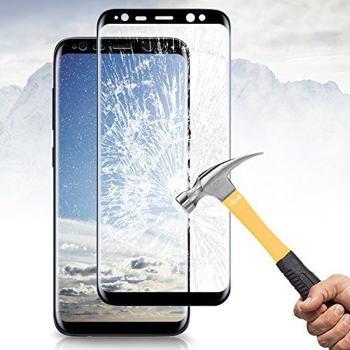 Samsung Galaxy S8 Plus Screen Protector, Vitutech Galaxy S8 Plus Tempered Glass Full Coverage 3D CurvedSamsung Galaxy S8 Plus Tempered Glass, Vitutech...