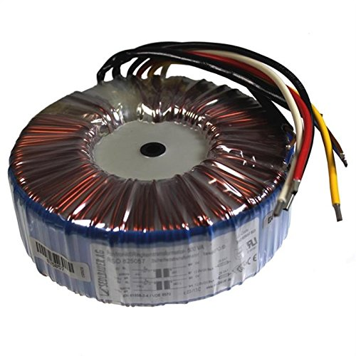 Transformador toroidal 500VA 2x115V -> 2x18V / 1x36V ; Sedlbauer, RSO-825059 IT-Tronics
