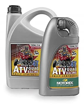 Motorex ATV/Quad Racing 4T Oil - 10W50 - 1L. 465-100