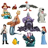 Disney The Little Mermaid Ariel Deluxe Figure Play Set (10 Pieces)