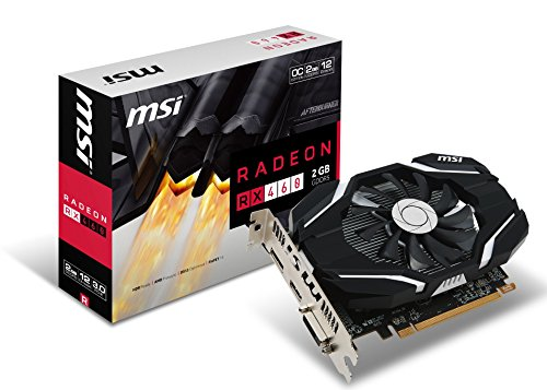 Price comparison product image MSI GAMING Radeon RX 460 GDDR5 2GB CrossFire DirectX 12 Graphics Card (RX 460 2G OC)