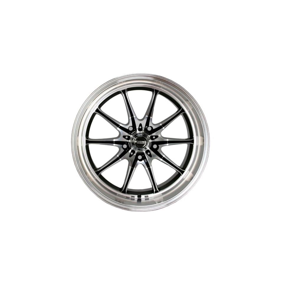 Kyowa Racing Trek 10 (Series 656) Black/Machined   18 x 8 Inch Wheel