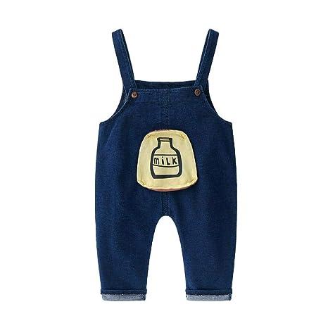 AFFEco - Pantalones vaqueros para bebé, informales, con ...