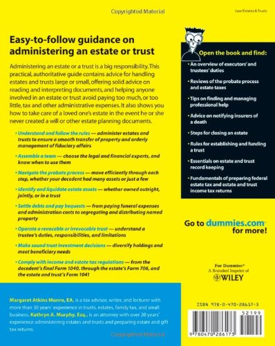 What are the limitations placed on the executor of a trust?